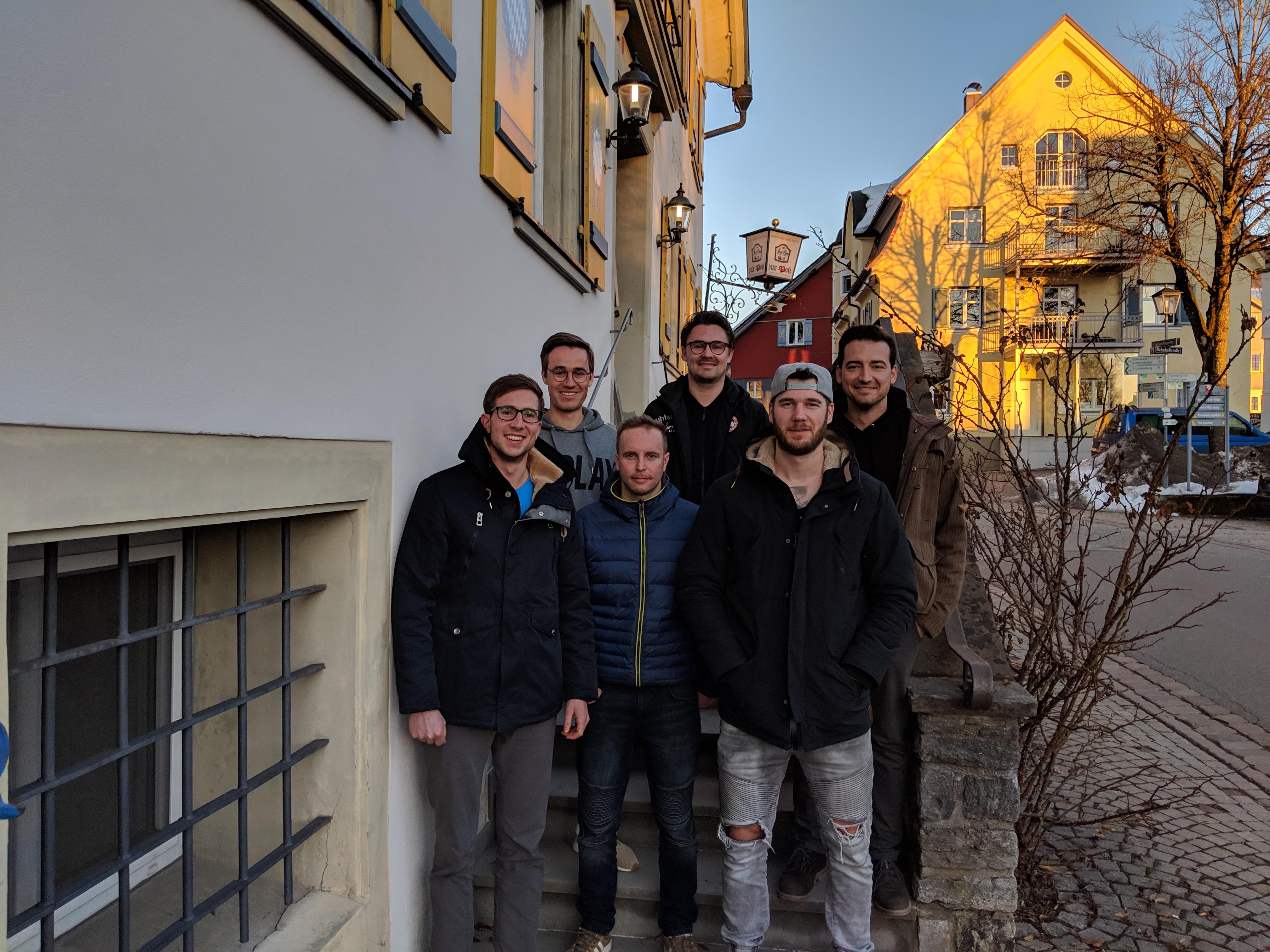 Mannschaftsfoto Herren 2019